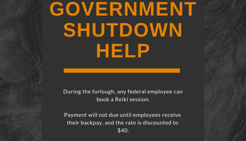 government shutdown pricing