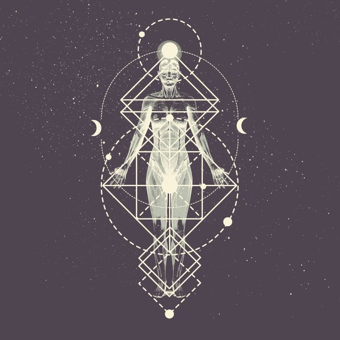 Reiki Energy sacred geometry art