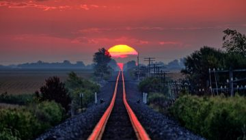 sunrise train tracks