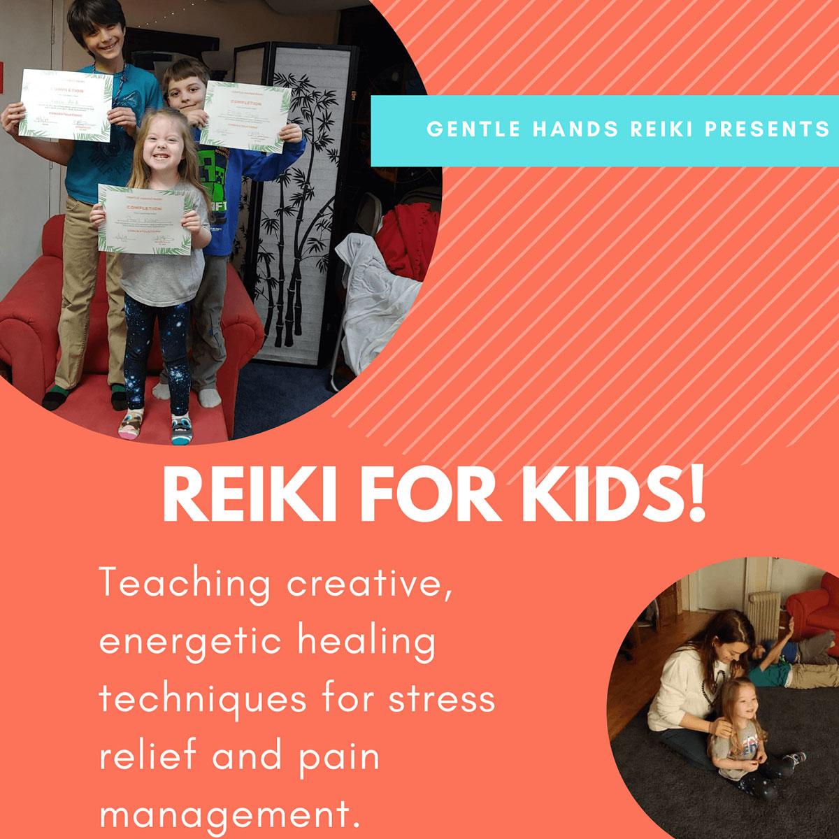 Reiki</br>For Kids