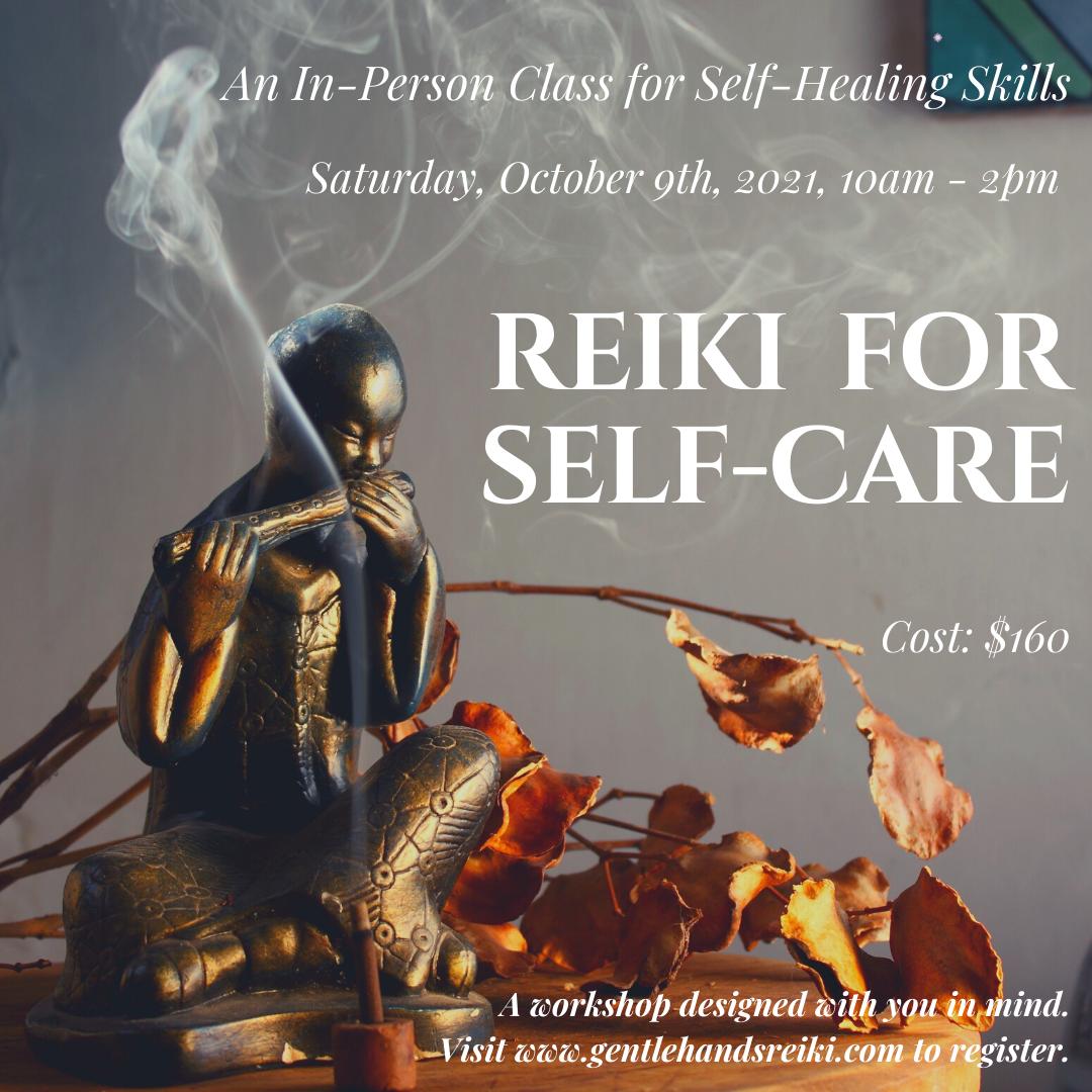 Reiki for Self-Care </br> (in-Person)