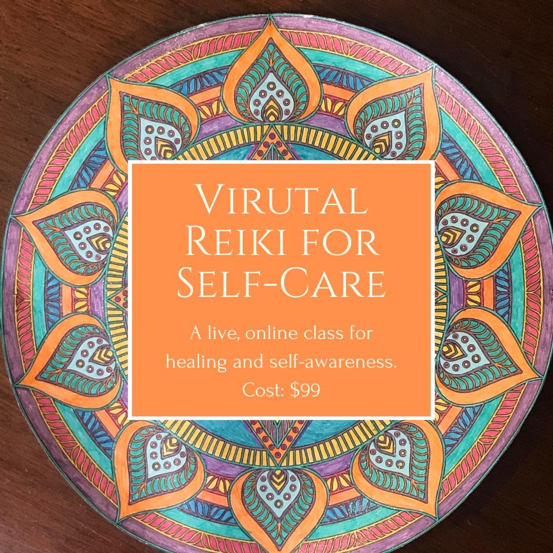 Reiki for Self-Care</br>(Virtual)